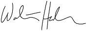 Presidents signature